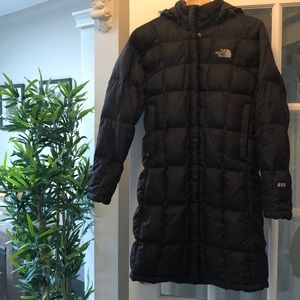 Thé North Face Long Puffer/Jacket 600 Down